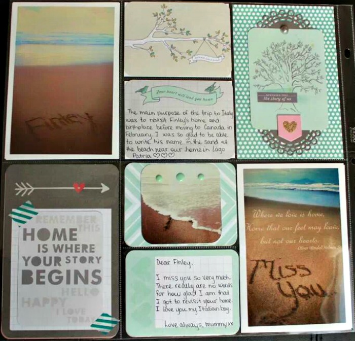January 2013 Project Life page 7
