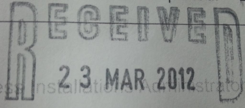 23 March 2012