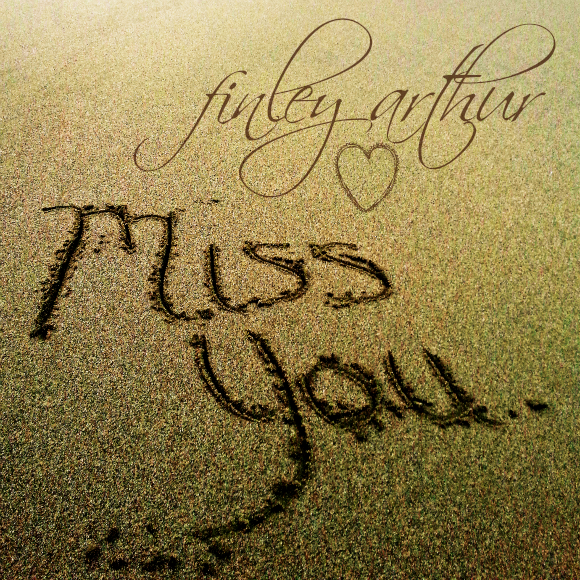 Miss You Customizable Name Graphic