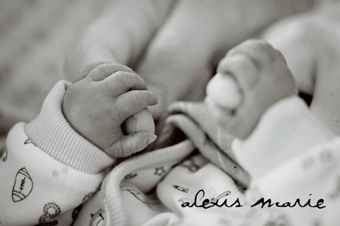 baby hand photograph copyright Alexis Marie Chute